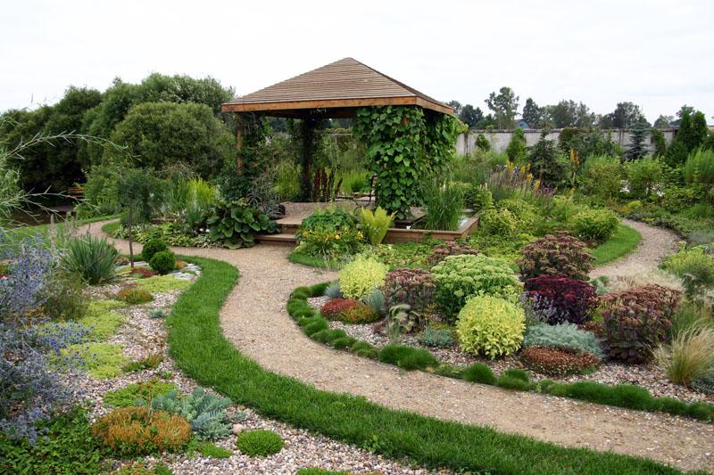 Как сделать гравийный сад на даче
