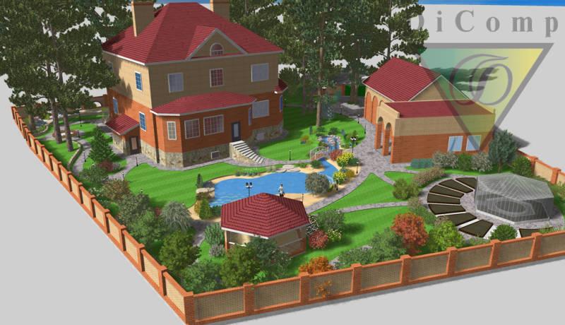 Программа ландшафтного дизайна наш сад