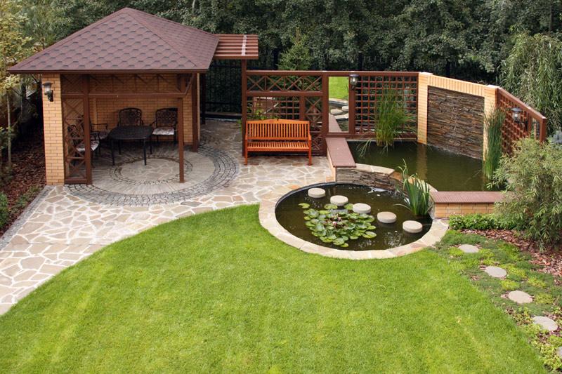 Дизайн садового участка 10 соток своими руками