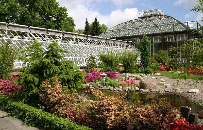 порно фото в ботаническом саде